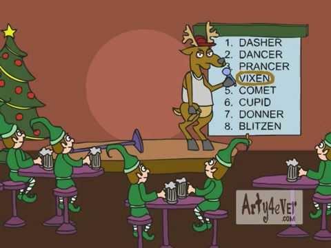 """""""Damn It, I'm Vixen""""  - Animation Christmas Song"""