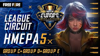 [GR] Free Fire Europe Pro League Season 2 - League Circuit Day 5