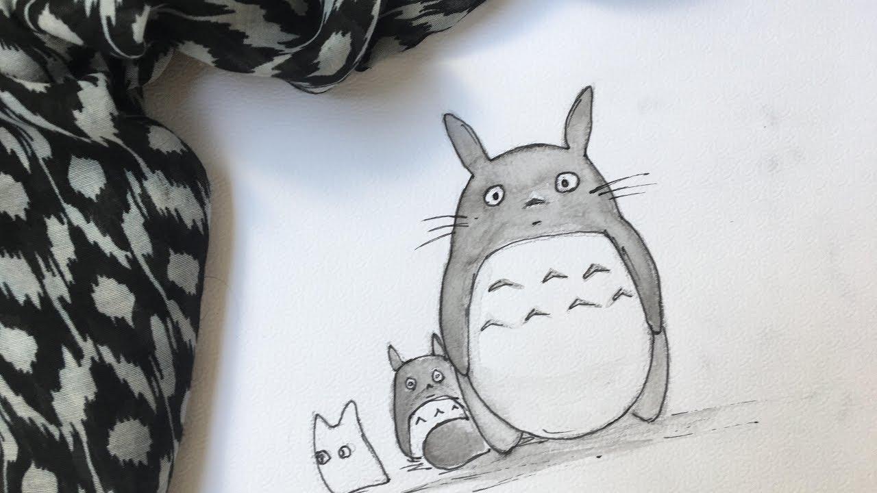 Totoro May: How To Draw Totoro!