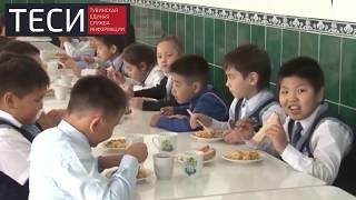 Обеспечение горячим питанием учащихся.