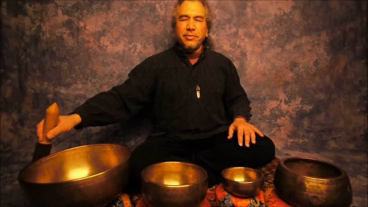 Heart meditation with tibetan bowls app