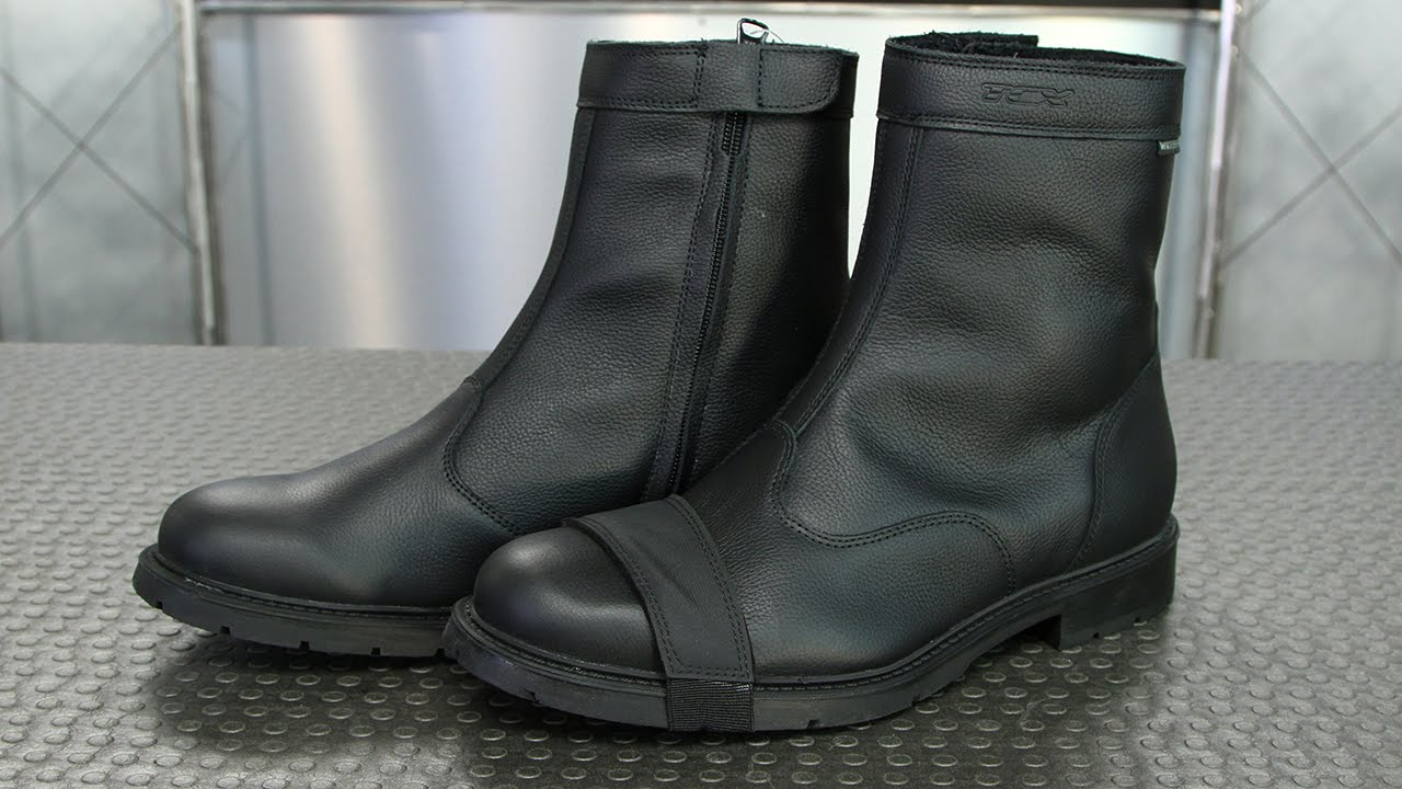 TCX Urban Waterproof Boots | Motorcycle Superstore - YouTube
