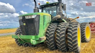 Why 12 Tires? 620 hp John Deere 9620R Tractor