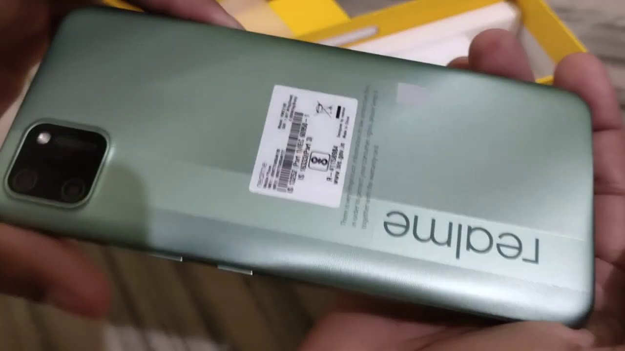 Realme C11 (Rich Green, 32 GB) Unboxing with 2 GB RAM 5000 mah Battery 7499/- by ISRAR.