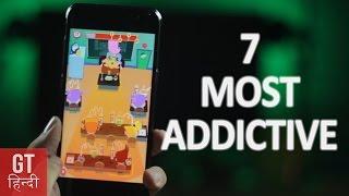 7 Most Addictive Offline Android Games (Hindi-हिन्दी ) | GT Hindi