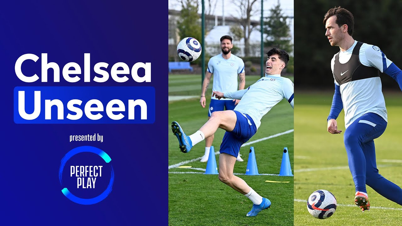 Chilwell finds top bins ⚽️🗑 football tennis against the coaches! 😂 | Chelsea Unseen