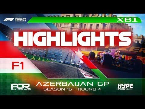 Highlights: F1 2018 | AOR Hype Energy S16 XB1 F1 | R4: Azerbaijan GP