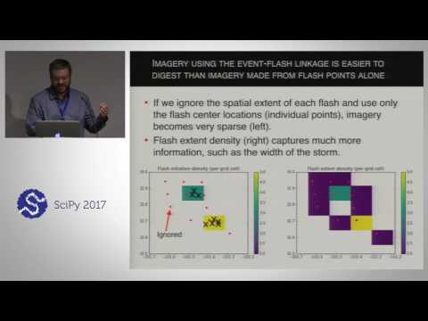 From the Field to Geostationary Orbit - Mapping Lightning with Python | SciPy 2017 | Eric Bruning