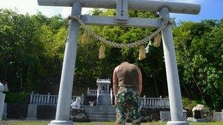 アキーラさん慰霊訪問①親日国パラオ・ペリリュー島・ペリリュー神社参拝,Peleliu(Shrine) island,Palau