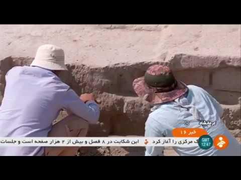 Iran Ancient Persia ruins, Khaibar village hill, Ravansar ويرانه باستاني تپه روستاي خيبر روانسر