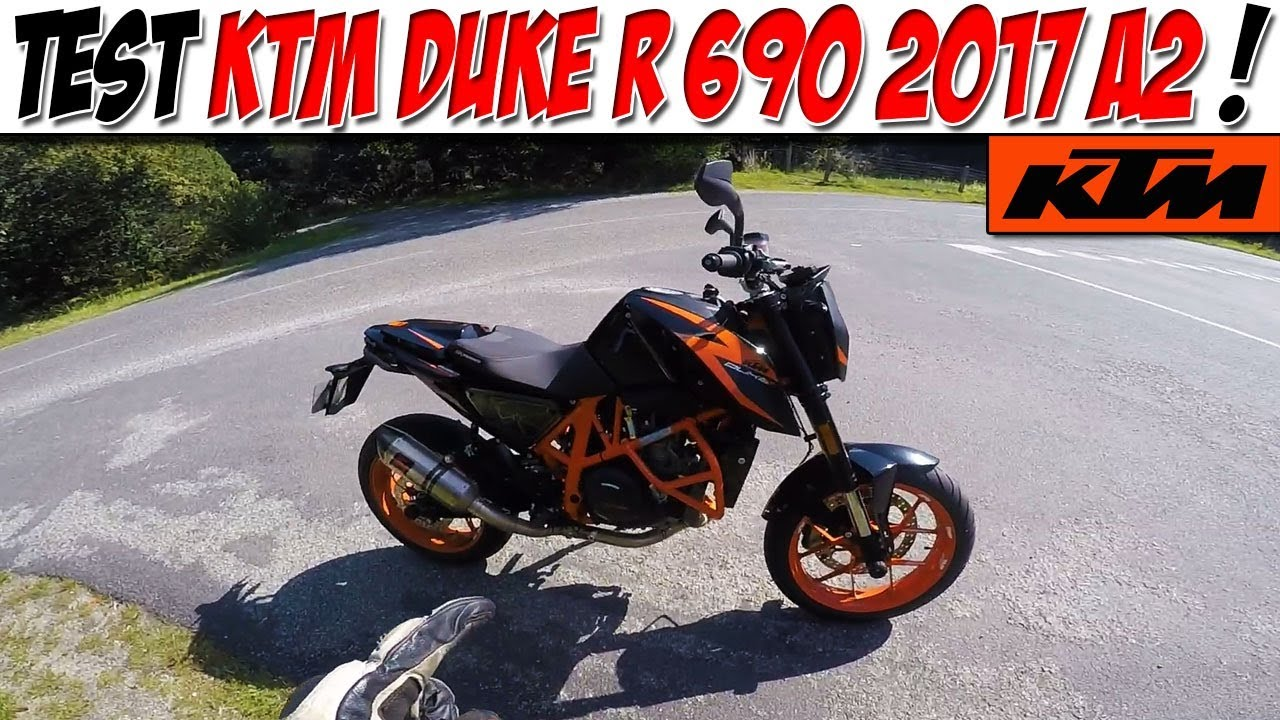 moto vlog 109 test ktm duke r 690 2017 a2 ta futur moto youtube. Black Bedroom Furniture Sets. Home Design Ideas