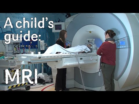 A child's guide to hospital: MRI