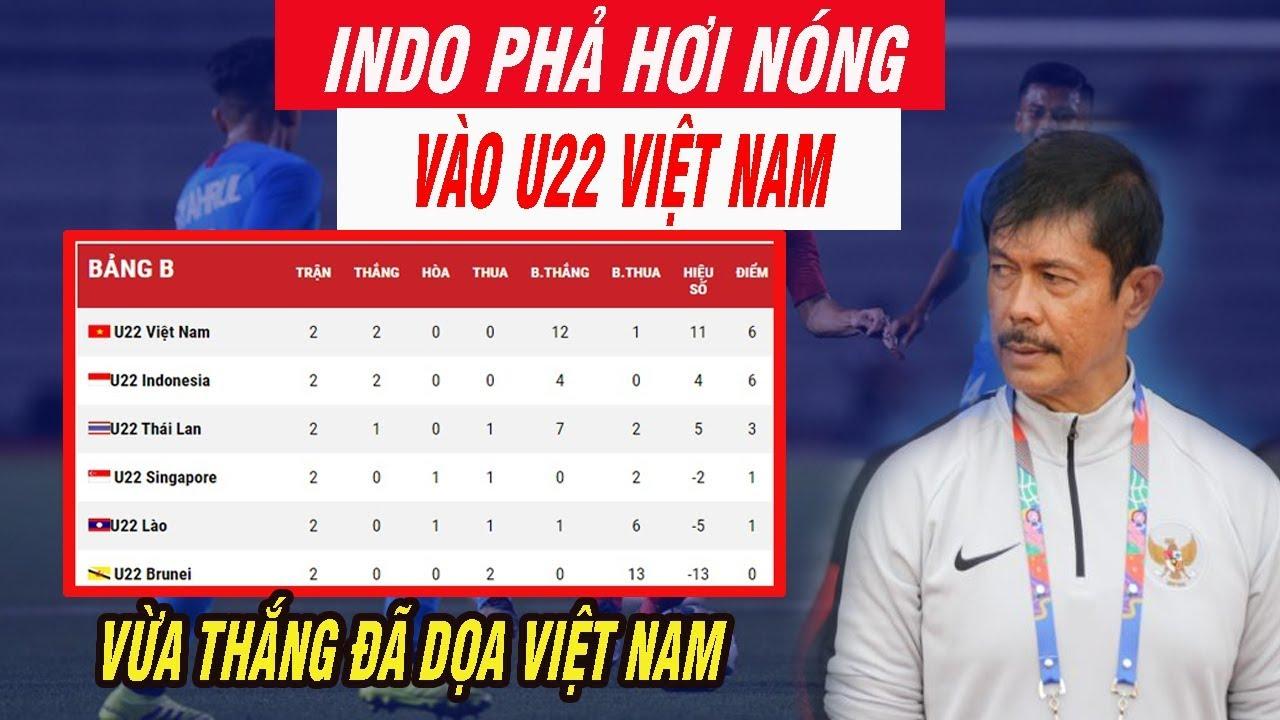 Bảng Xếp Hạng Sea Games 30 U22 Indonesia Phả Hơi Nóng Vào U22 Việt Nam