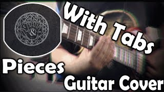 【Of Mice & Men   ''Pieces''   Guitar Cover + Tabs】