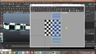 Autodesk Maya UV разверстка (часть 11)