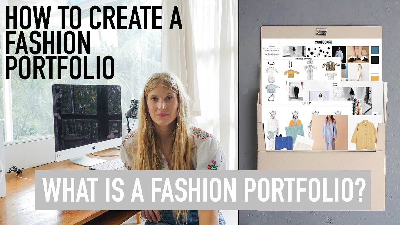 How To Create A Fashion Portfolio Tutorial What Is A Fashion Portfolio Youtube