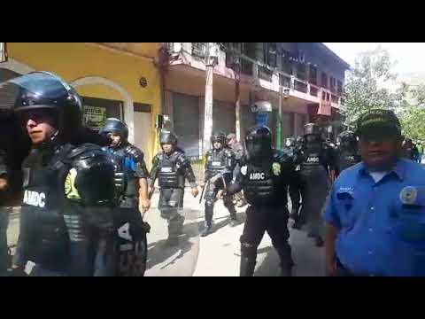 ¡ AMDC se apresta a desalojar vendedores ambulantes en el centro de Tegucigalpa !