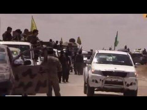 Курды наступают на