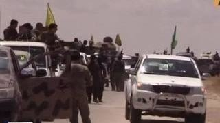 Курды наступают на столицу ИГИЛ в Сирии