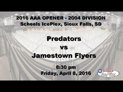 AAA Opener 2004 - Predators vs Jamestown Flyers
