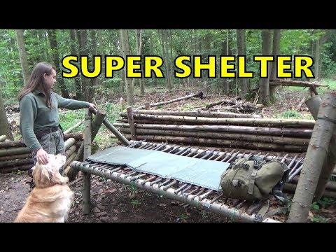 Super Shelter Woods Camp