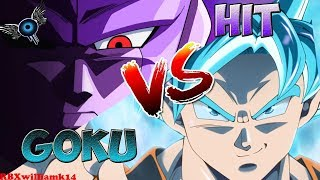 Roblox - Dragon Ball Z Final stand / Goku Vs Hit [Full Fight]
