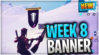 FORTNITE WEEK 8 SECRET BANNER Location Guide Snowfall Challenges Fortnite Battle Royale