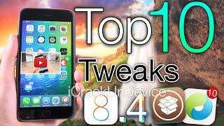 Top 10 iOS 8.4 Cydia Tweaks - BEST TaiG pre 8.4.1 Jailbreak 8.4 Tweaks & August 2015