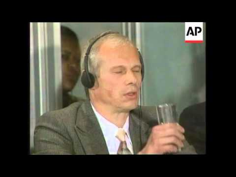 SOUTH AFRICA: PRETORIA: JANUSZ WALUS APPEARS AT TRUTH COMMISSION