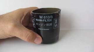 Масляный фильтр Mann 610/3