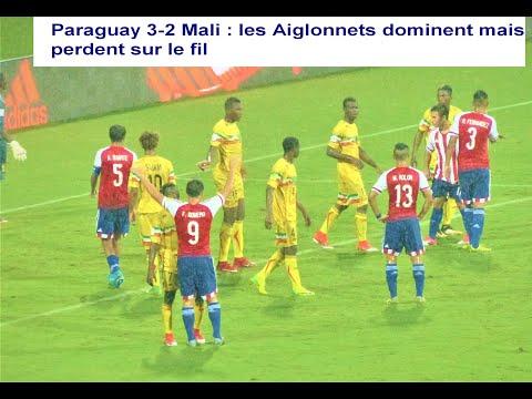 Paraguay vs Mali-menés 2-0 les Aigles Cadets égalisent