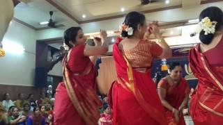 gummi dance at Ahobila mutt Chembur