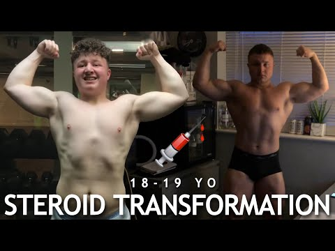 STEROID TRANSFORMATION - 18 Years Old - LIAM TURNBULL