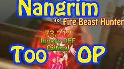 Summoners War - Nangrim Fire Beast Hunter TOO OP