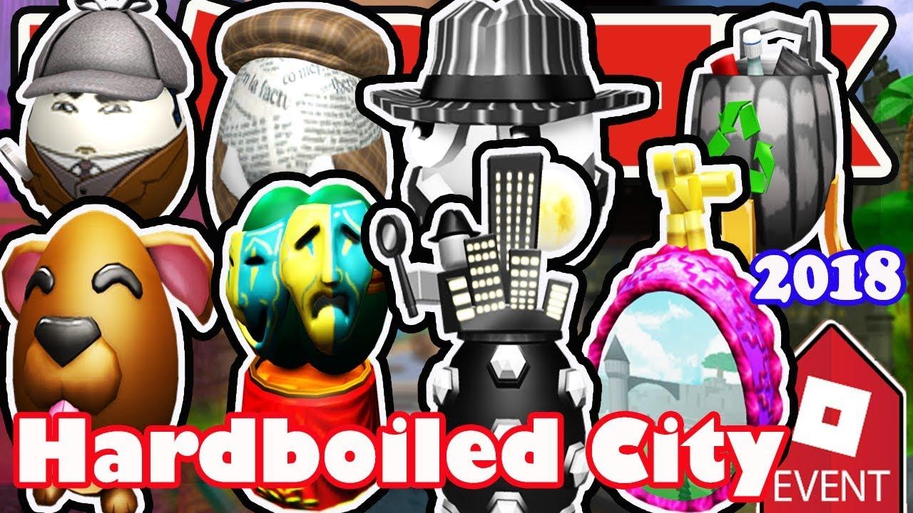 Roblox Egg Hunt 2019 Reddit Event How To Get All Eggs In Hardboiled City Roblox Egg Hunt 2018 Full Walkthrough Youtube