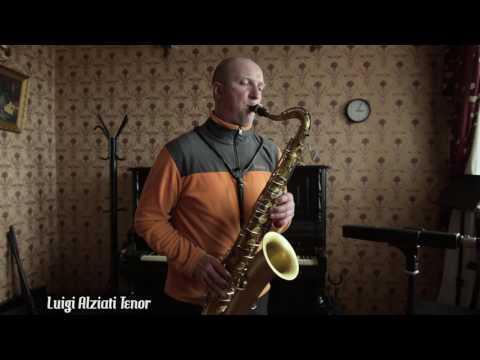 Vintage Luigi Alziati Milano Tenor Saxophone (Fabrica Premiata) for Sale