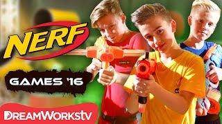 The Games Begin! | NERF GAMES 2016