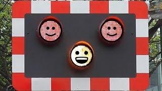 Happy Railway Crossing