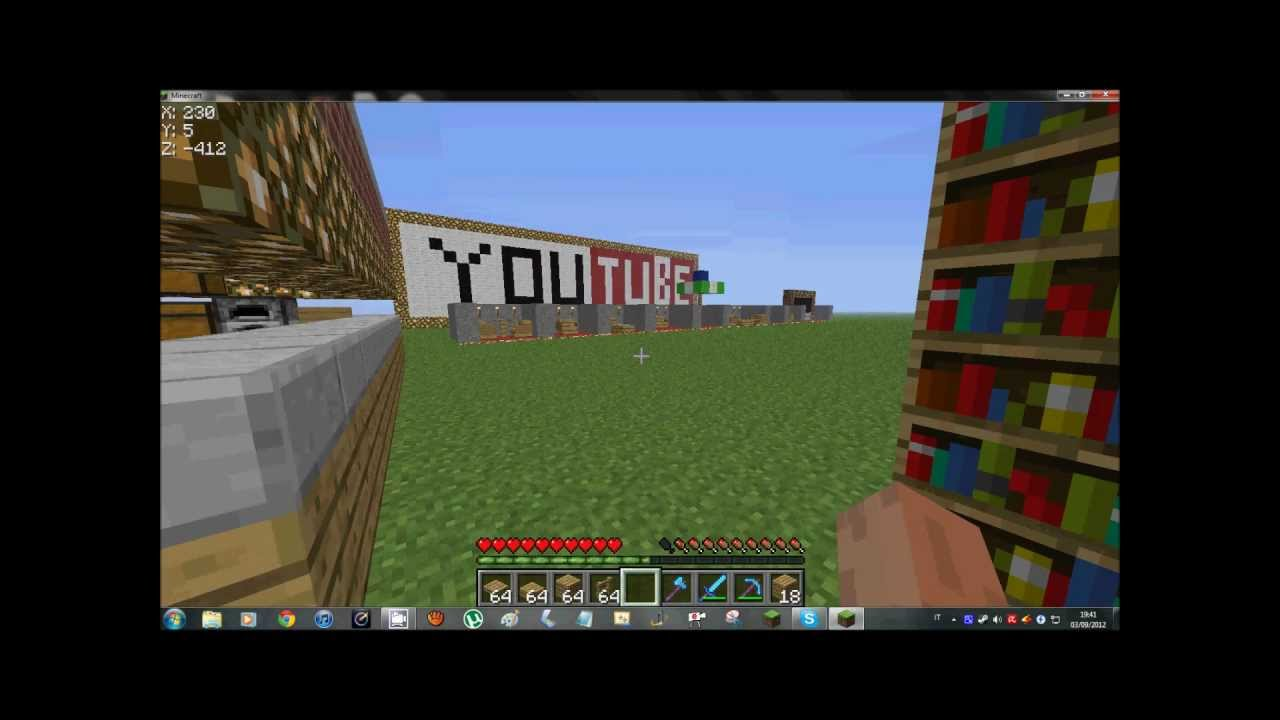 come abbellire una casa in minecraft youtube