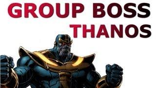 Marvel Avengers Alliance Spec Ops 13: Group Boss - Thanos