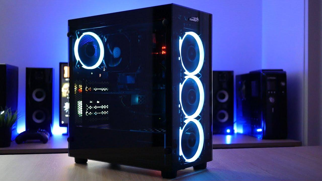 SENTEY K20 GABINETE RGB POR 1600 CONTROL REMOTO