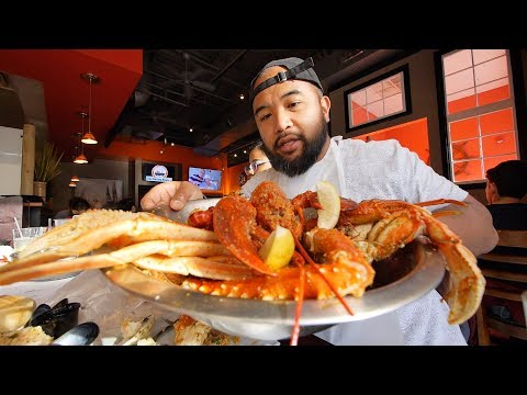 SEAFOOD HEAVEN In Cherry Hill, NJ The Boiling House [JL Jupiter Vlog]