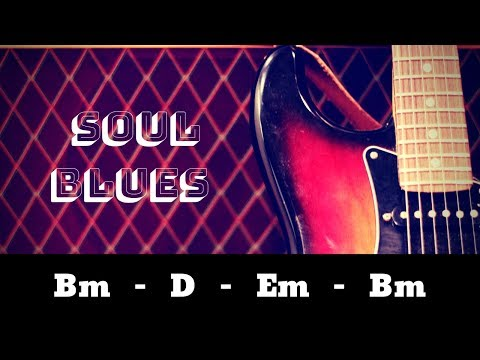 EPIC Dirty Soul Blues | Guitar Backing Jam Track in B Minor