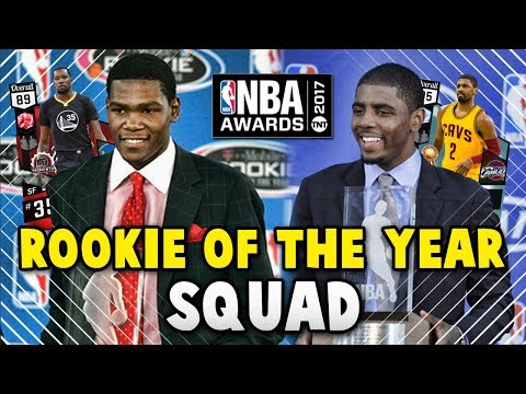 NBA 2K17 MyTEAM ROOKIE OF THE YEAR SQUAD!! | NBA 2K17 MyTEAM AWARDS SQUAD BUILDER