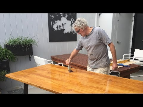Australian Hairpin Legs | Bunnings Bench Top | How To DIY Dining Table