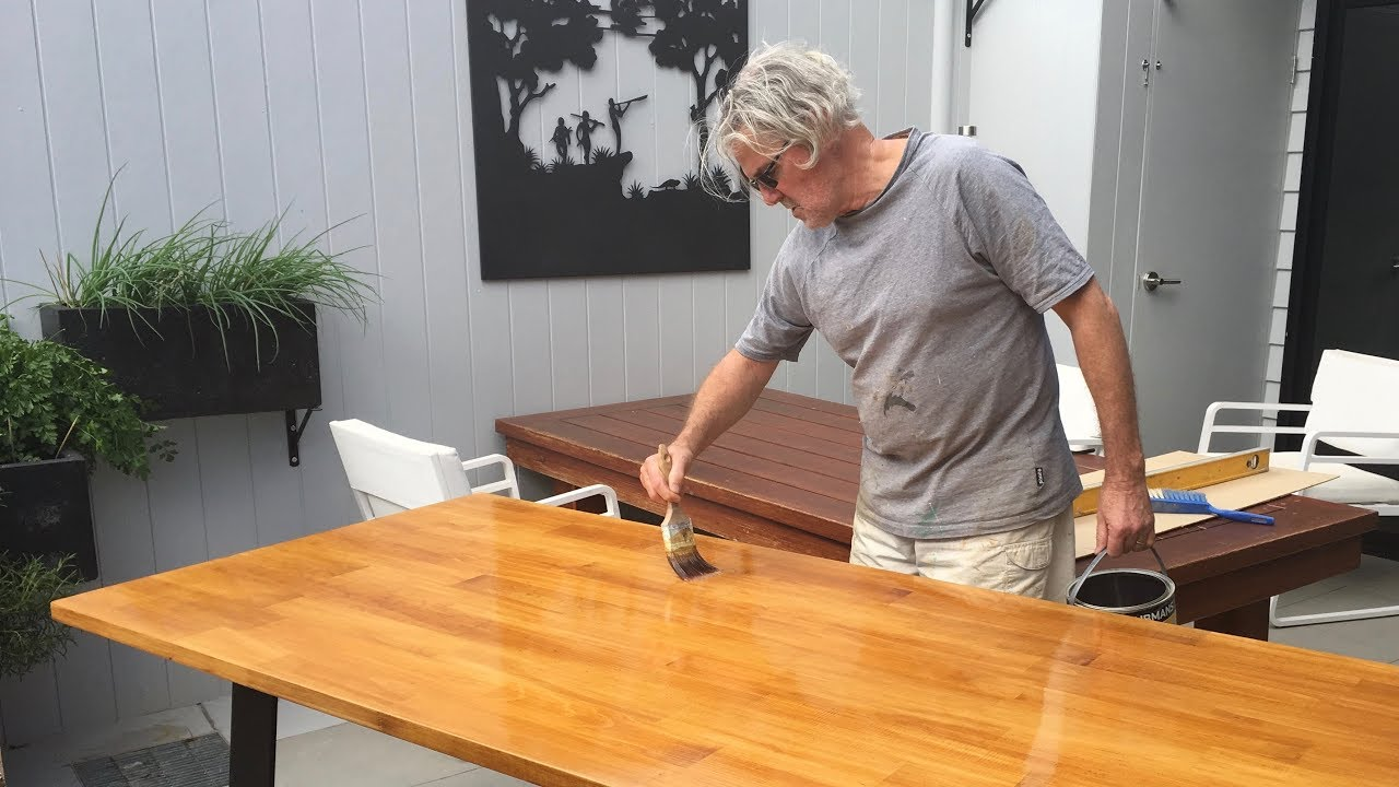 Australian Hairpin Legs Bunnings Bench Top How To Diy Dining Table Youtube