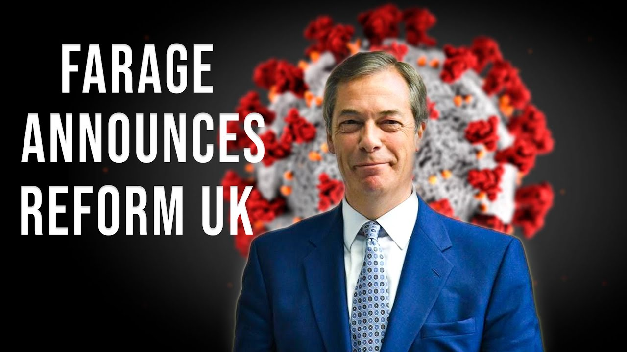 Nigel Farage Announces Anti-Lockdown Party 'Reform UK'
