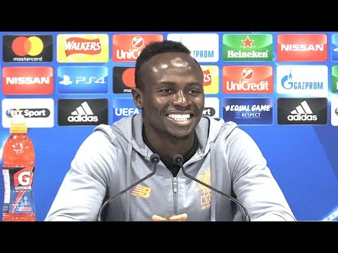 Sadio Mane Full Pre-Match Press Conference - Liverpool v Spartak Moscow - Champions League