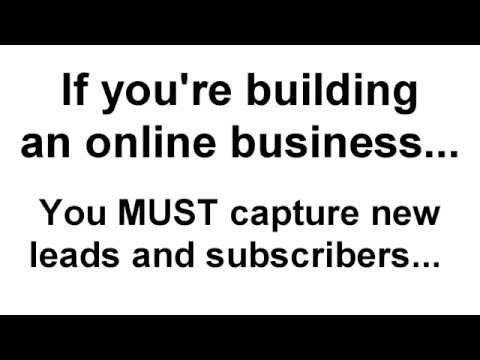 How to build a list using landing pages (the easy way