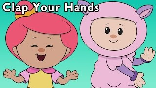 H Is for Hands | Clap Your Hands and More | Baby Songs from Mother Goose Club!